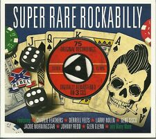 Super RARE Rockabilly 3 CD 75 Original Recordings Digitally Remastered Digi