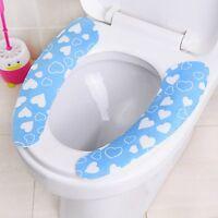 Washable Adhensive Washroom Warm Toilet Seat Pad Cover brand new