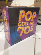 Pop Goes the 70s Various Artist 10-Disc CD Box Set Brand New