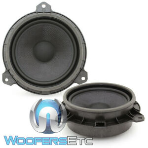 """FOCAL  IS-65TOY 6.5"""" DIRECT UPGRADE SPEAKERS MIDWOOFERS FOR SELECT TOYOTA PAIR"""