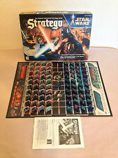 Stratego Star Wars The Galactic Battlefield Strategy Board Game Complete RARE