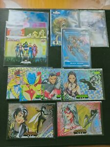 Japanese MEGA MOON Gold Foil 2020 UD Upper Deck MARVEL ANIME Mechanized 13x Lots