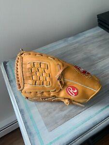 "Rawlings ""Deep Well"" Pocket Baseball Glove Signed by Ken Griffey Jr."
