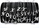 A-Z Lettre Nom Initiale Collier Pendentif Chaîne Femmes Bijoux Fantaisie Strass