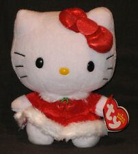 TY HELLO KITTY (CHRISTMAS DRESS) BEANIE BABY - MINT with MINT TAG