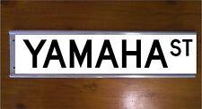 YAMAHA STREET SIGN ROAD BAR SIGN - BIKE MOTOR CROSS