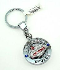 Key Chain Welcome To Las Vegas Sign Spinner Souvenirs NEW FREE SHIPPING *