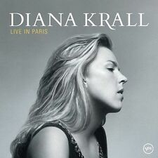LIVE IN PARIS - DIANA KRALL. like new