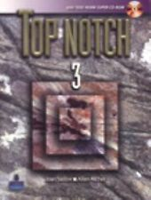 Top Notch 3 with Super CD-ROM by Joan M. Saslow and Allen Ascher (2006,...