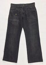 Marlboro Classics utility W34 tg 48 pantalone velluto usato uomo dritto T231
