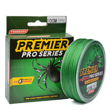 1 Proberos Green 100M / 110YD 4 Strand PE Braided Fishing Line 25lb Test