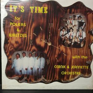 SEALED Polka Vinyl Lp Record Cernik Jeannette & Happy Wanderers Last Copy from X