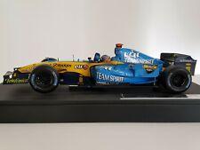Fernando Alonso Renault R25 Driver's campeón Brasil 2005 1:18 Hot Wheels