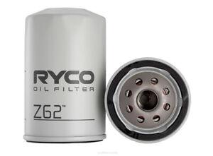 Ryco Oil Filter Z62 fits Kia Pregio 2.7 D (TB)