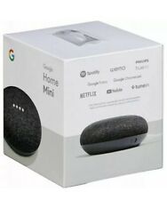 Google Home Mini Smart Speaker with Google Assistant - Charcoal - New