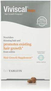 Viviscal Man Hair Growth Program Tablets 60 tablets by Viviscal, 60 tablet