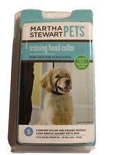 New listing Martha Stewart Pets Padded Training Head Collar Fits Dogs Sz 10 To 20 lbs Small