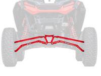 SuperATV Boxed HC Rear Radius Arms for Polaris RZR XP Turbo S (2018+) - Red