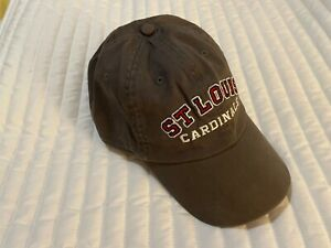 NIKE Team Swoosh Gray St. Louis Cardinals Baseball Cap Hat Adjustable Fit NEW