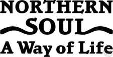 Northern Soul Sticker to fit Vespa PX Scooter Tool Box Lid  - Mod decal
