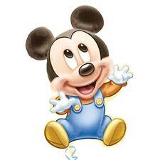 "Baby Mickey Mouse SuperShape Jumbo 1st Birthday Balloon 33"" Party Favor Supplies"