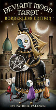 Deviant Moon Tarot Deck Borderless Edition Cards NEW IN BOX 2014 Patrick Valenza