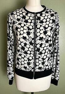Dorothy Perkins Black White Lightweight Summer Festival Holiday Jacket Size 6