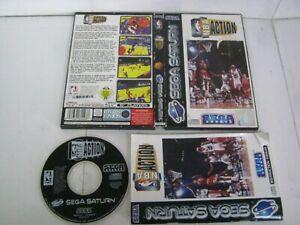 Sega Saturn Pal NBA ACTION 2000
