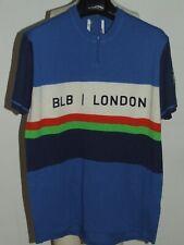 Maillot Vélo Haut Cyclisme Bibliotheque Erotique Vintage 70'S London 50% Laine