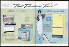 1961 Frigidaire Flair double oven range refrigerator etc vintage print ad