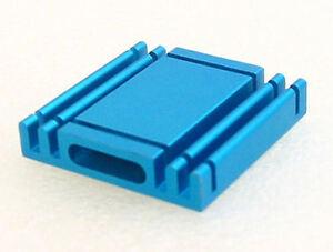 Heatsink (Type4)   Aluminum Heatsink  - 27mm x 27mm x 5mm (2 pcs)