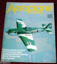 Aeroplane Monthly 1980 October Vulcan,AW15 Atlanta,Parnall Pixie