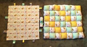 Disney Winnie the Pooh Baby Bubble Puff Biscuit Quilt & Blanket Set Handmade