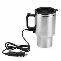 Water Heater Coffee Mug Car Electric Travel Kettle Cigarette Lighter Heating Cup