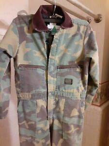 youth camouflage Coveralls