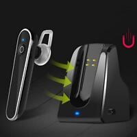 Bluetooth 4.1 Stereo Car Driving Earphone Headphone Earpiece For iPhone Samsung