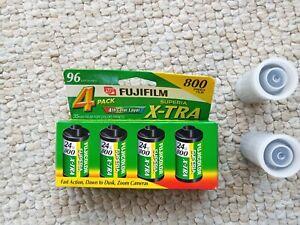 Fujifilm Superia Extra 800 iso 35mm 6 rolls 24 exposures