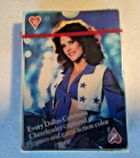 Vintage 1981 DALLAS COWBOYS CHEERLEADERS Playing Cards NFL Football (Sealed) New