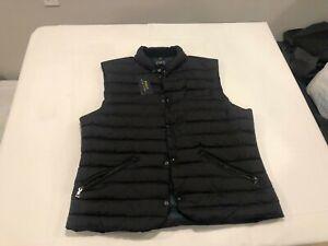 NWT $228.00 Polo Ralph Lauren Mens Down Puffer Vest Black Size LARGE