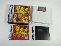 Crouching Tiger Hidden Dragon Nintendo Game Boy Advance GBA Ubisoft 2003 CIB
