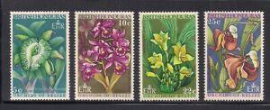 Br. Honduras   1969   Sc # 226-29   Orchids   MNH   (54126)