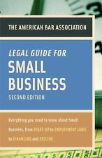 American Bar Association Legal Guide for Small Business