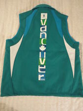 Men's Official Winter Olympic Vancouver 2010 100% Polyester Vest (Large)