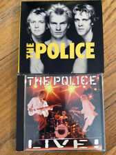 THE POLICE CD Lot Of 2 LIVE & Greatest Hits 4 Discs Sting Stewart Copeland