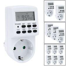 AMOS Temporizador Digital Interruptor Enchufe Programador Minutero Programable