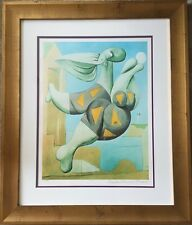 "Lithograph Collection Domaine Picasso Limited Edition ""Bather With Beach Ball"""