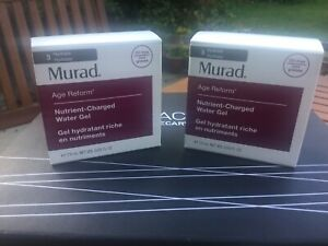 2 X NEW Murad Age Reform Nutrient-Charged Water Gel 7.5ml (15ml Total)