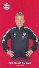 FOOTBALL carte assistant trainer PETER HERMANN équipe BAYERN MUNICH