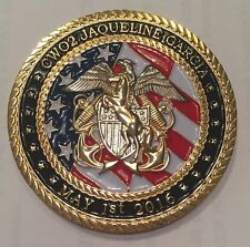 USN CWO2 Jaqueline Garcia Retirement May 1st, 2016 Challenge Coin