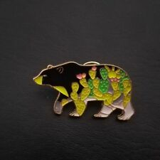 Bear Shape Lovely Badge Enamel Brooch Fashion Jewelry Denim Jacket Collar Pin